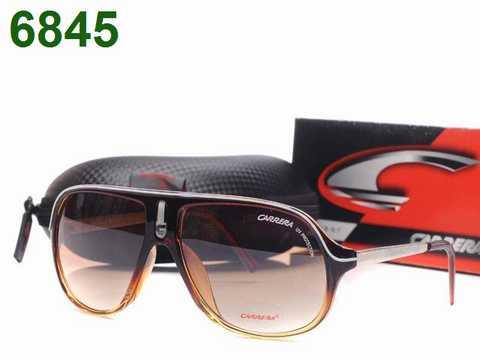 lunettes de soleil carrera  lunette a prix cass noir et or