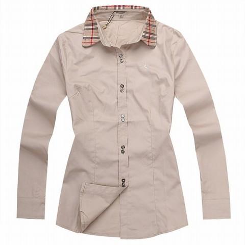 chemise Contrefacon Rouge Chemise Burberry Burberry Reconnaitre mnv0wPyON8