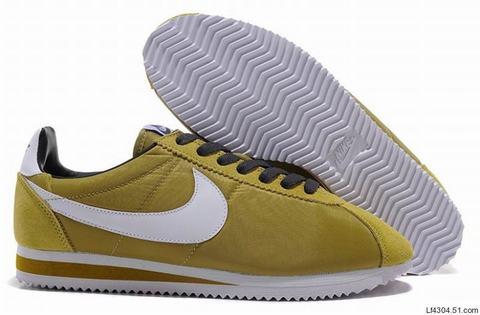 Cortez Nike Jaune Femme