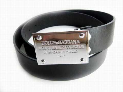 ba44500d50f Ceinture Femme Dolce Gabbana Pas Cher