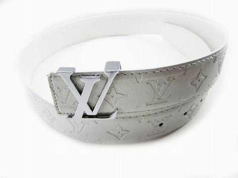 Louis Vuitton Ceinture Blanche