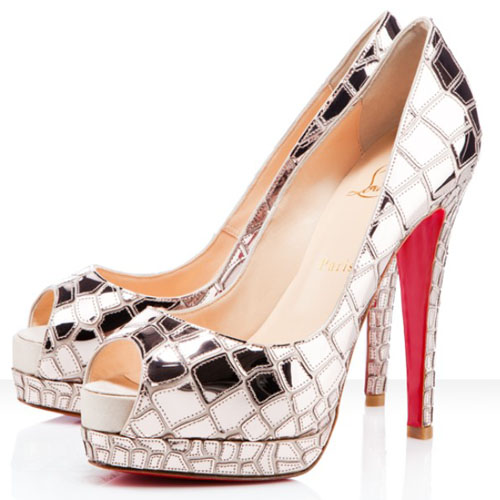 Chaussure Louboutin Transparente