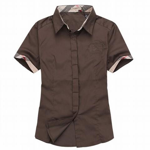 comment reconnaitre fausse chemise burberry