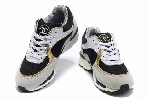 196182055b28 basket chanel noir pas cher,Chanel chaussures 2014 basket ball femme  classique pas cher Noir Blanc