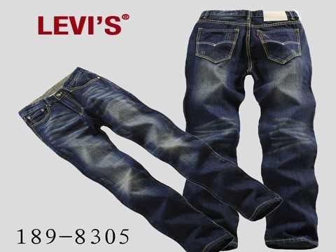 jeans levis occasion jean  noir homme femme promo