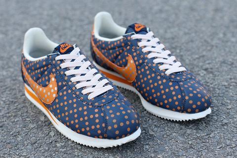 Nike Cortez Nylon bleu foncé Homme
