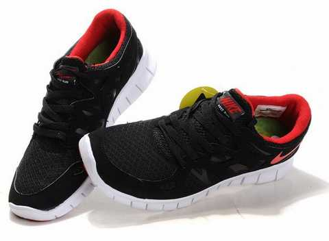 Nike Free 5.0 Noir Femme