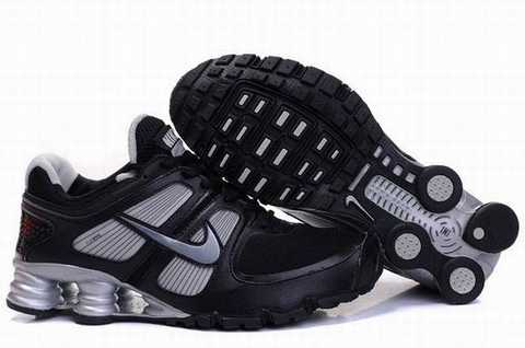 Nike Shox Grise Et Jaune