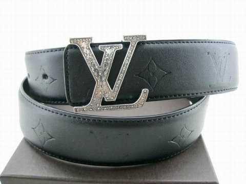 Ceinture Louis Vuitton Homme Blanche