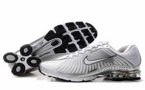 Nike Shox Rivalry Blanche Homme