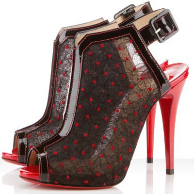 chaussures louboutin 2010 louboutin chaussure ouverte. Black Bedroom Furniture Sets. Home Design Ideas
